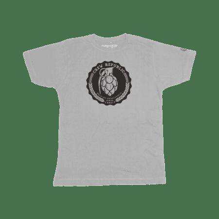 Boys Grenade Shirt grau von Crew Republic
