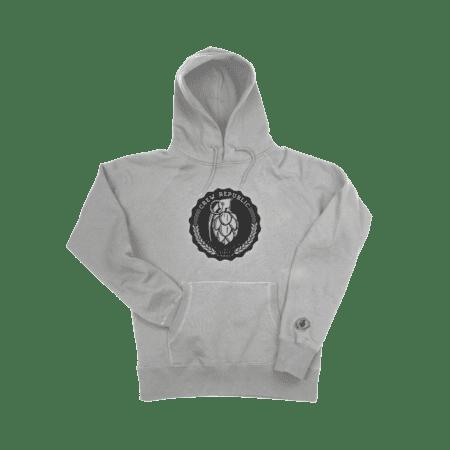 Boys Grenade Hoodie grau von Crew Republic